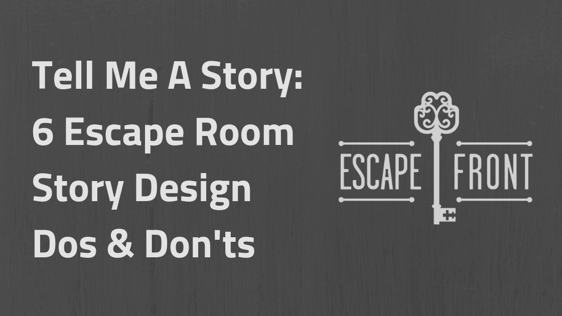 escape room story