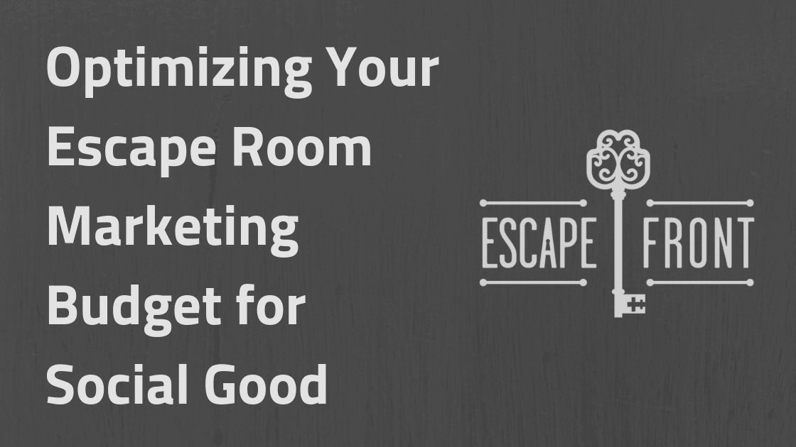 escape room nonprofit partnership