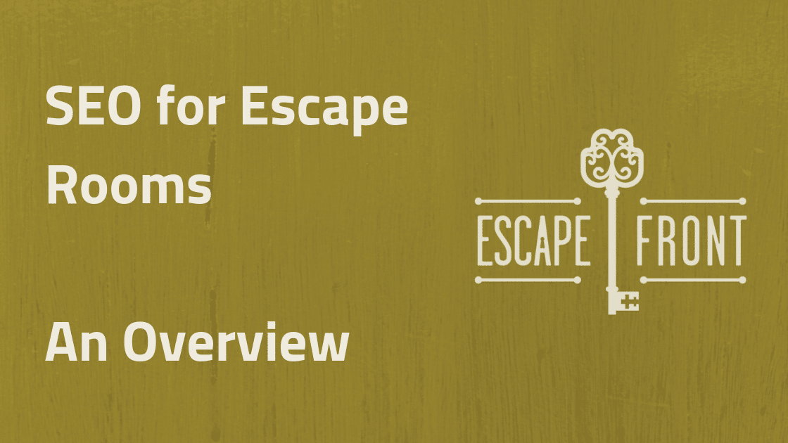seo for escape rooms