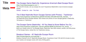 SEO for Escape Rooms Crawlable Pages