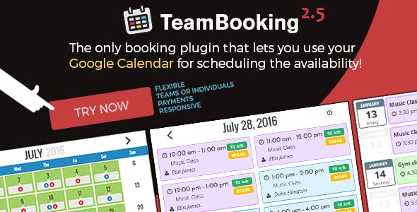 TeamBooking for WordPress