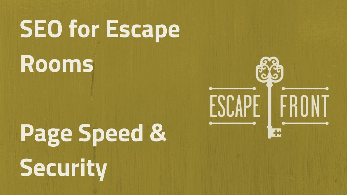 page speed & security