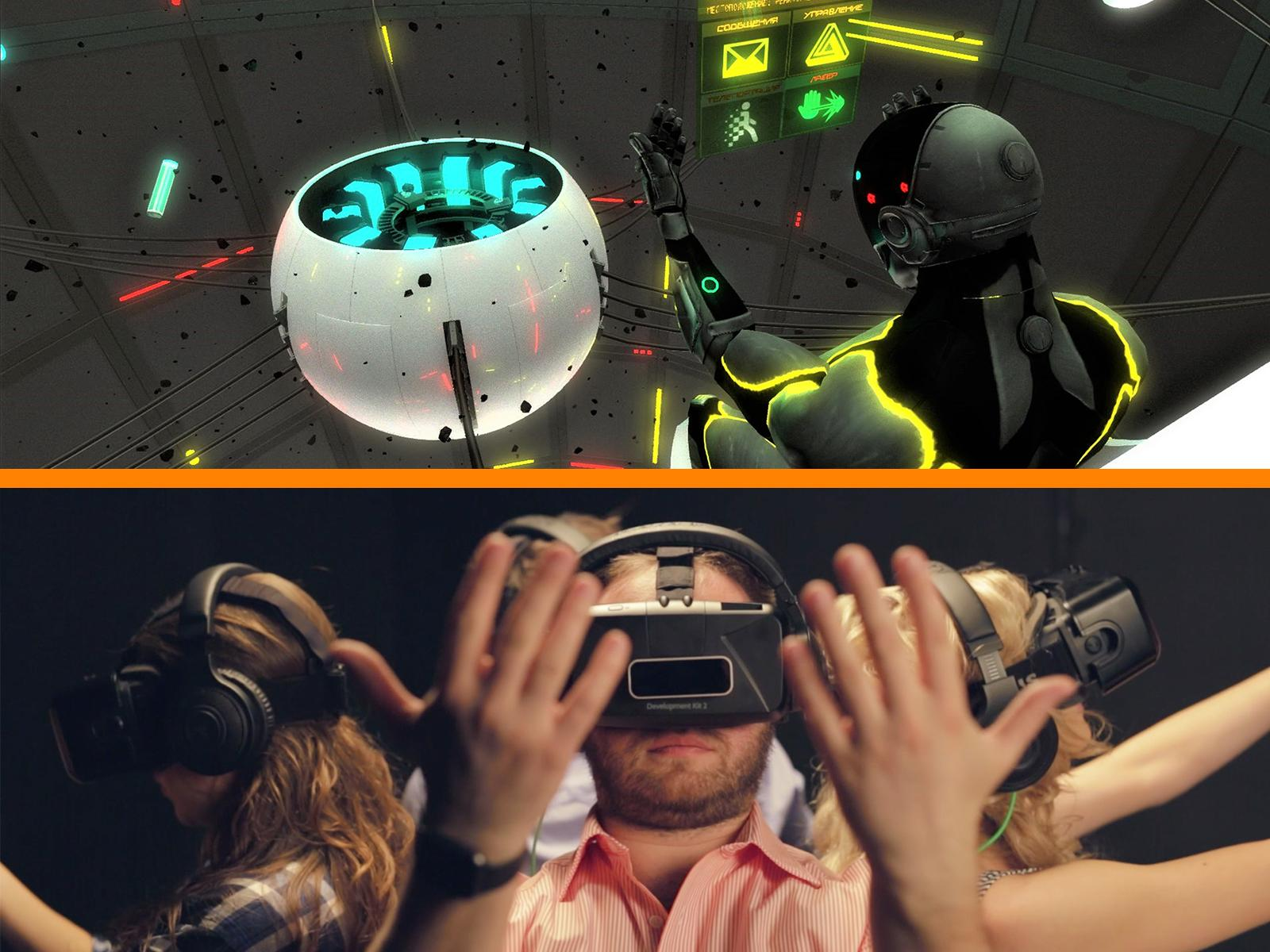 VR Escape Game Selection